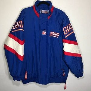 Starter Pro Line New York Giants Zip Up Jacket